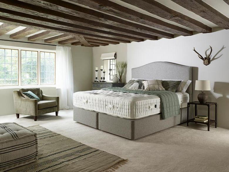 Harrison Beds Burford divan bed at Lee Longlands