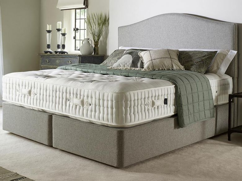 Harrison Burford small double mattress and divan at Lee Longlands