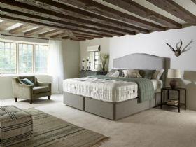Harrison Beds Burford divan and mattress at Lee Longlands