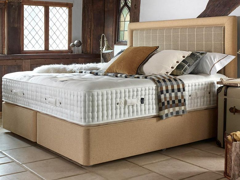Harrison Snowshill Zip and Link Divan and Mattress available at Lee Longlands