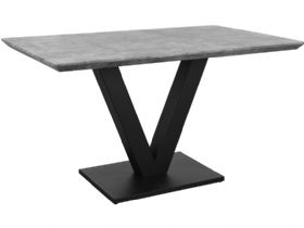 Pecos Dining Table in Stone Finish