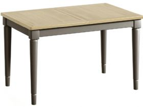 Small Grey Extending Dining Table