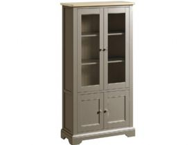 Grey Display Cabinet