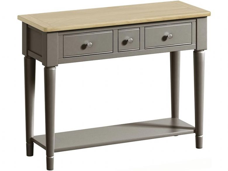 Solent Grey Console Table