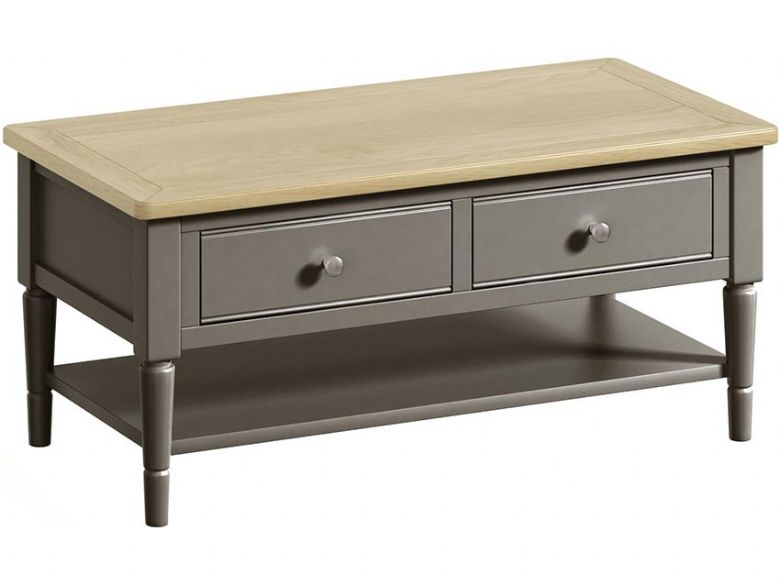 Solent Grey Coffee Table