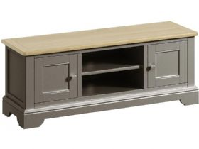 Large Grey TV Cabinet