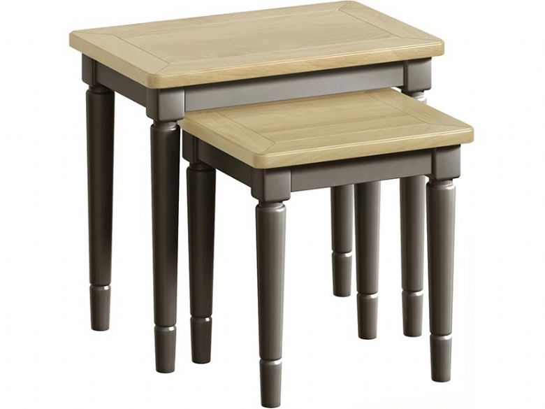 Solent Grey Nest of Tables