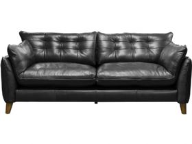 Fredrik Leather 3 Seater Sofa