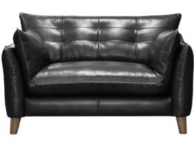 Fredrik Leather Snuggler Chair
