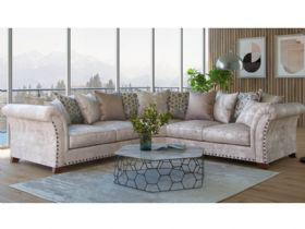 Lana fabric sofa range available as standard or scatter back