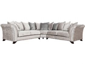 Lana Fabric Pillow Back Corner Sofa