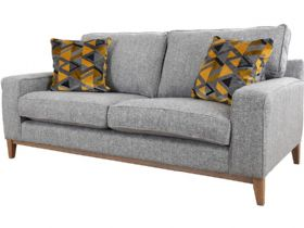 Charlotte grey fabric 3 seater sofa available at Lee Longlands