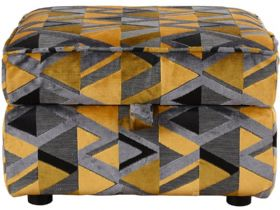 Charlotte Fabric Storage Stool
