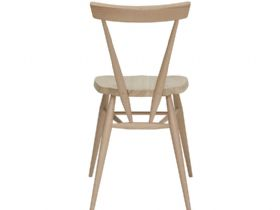 Ercol Originals Centenary Stacking Chair in Elm and Beech