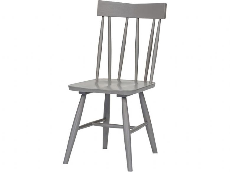 Narvik wooden grey dining chair available at Lee Longlands