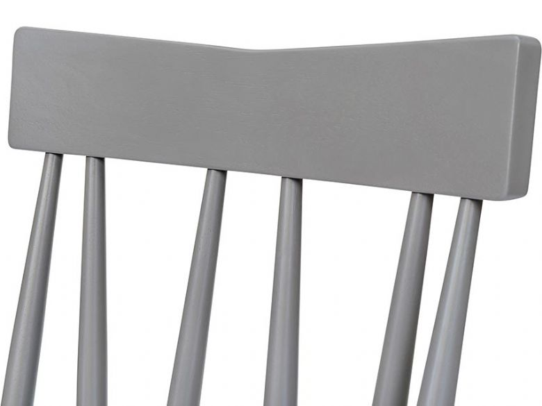 Narvik dining chair with wooden seat