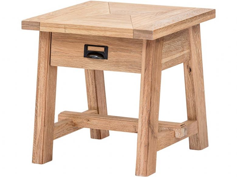 Narvik oak side table available at Lee Longlands