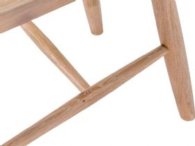 Narvik oak dining chair White Glove delivery available