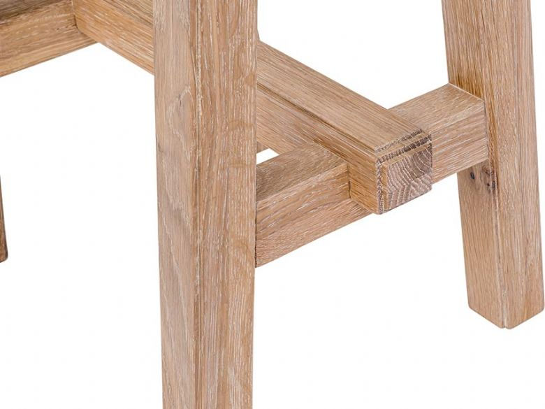 Narvik oak bar stool interest free credit available