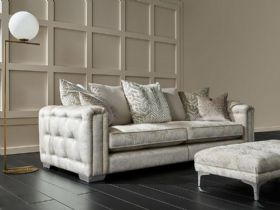 Geovanni button detail sofa available in a selection of sizes