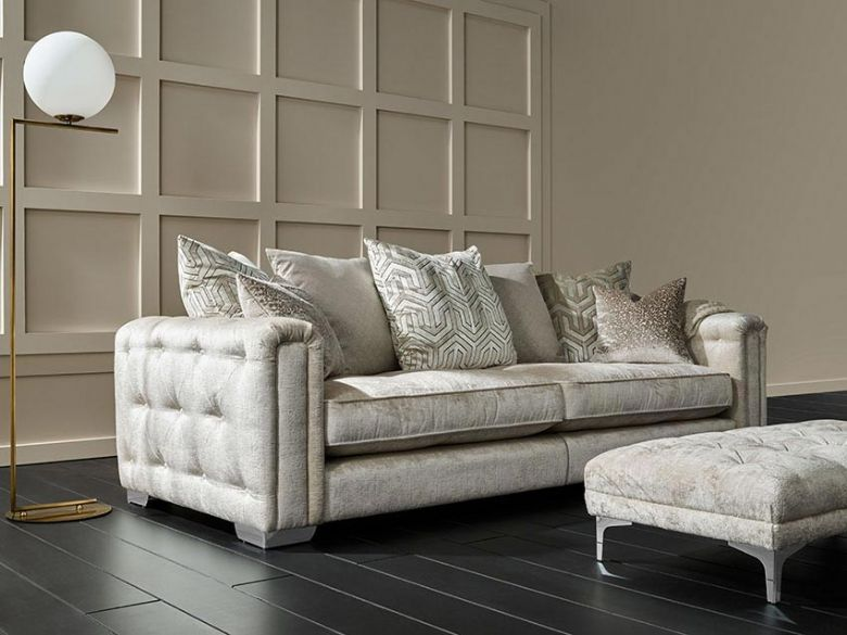 Geovanni glamorous sofas snuggler and chair