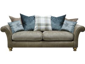 Harrison Pillow Back 3 Seater Sofa