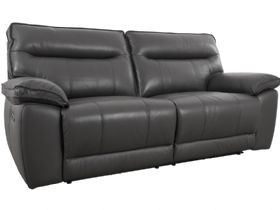Viceroy leather reclining power sofa