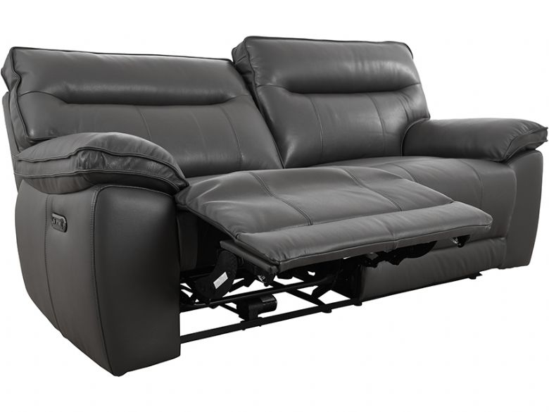 Viceroy 2.5 seater leather recliner