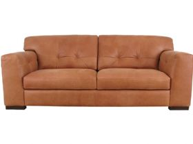 Simpson XL 3 Seater Leather Sofa
