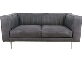Siggy 2 Seater Leather Sofa
