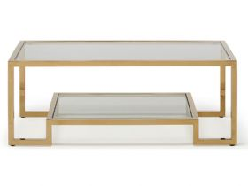 Carmelo Gold Coffee Table