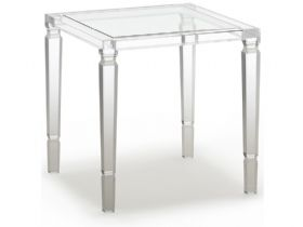 Rodolfo Acrylic Lamp Table