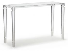Rodolfo Acrylic Console Table