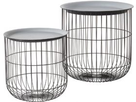 Sennen nest of cage tables available at Lee Longlands