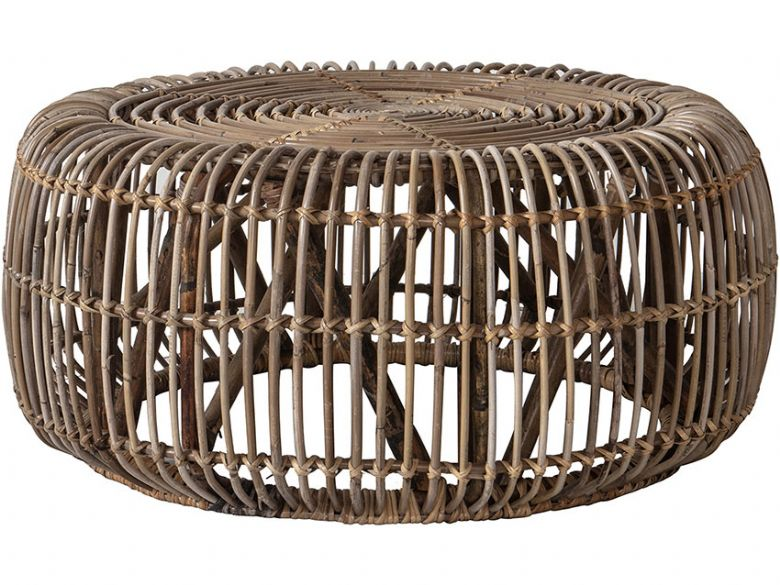 Willow rattan coffee table available at Lee Longlands