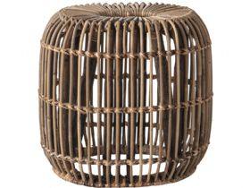 Willow Rattan Large Side Table