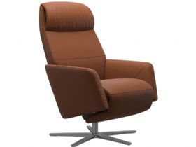 Stressless Scott heating and massage recliner chair available at Lee Longlands