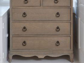 Camille limed oak chest