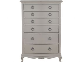 Etienne elegant French chateau style grey chest interest free credit available