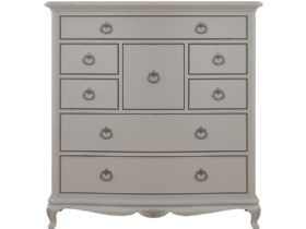 Etienne grey French style chest of drawers 2 man White Glove delivery service