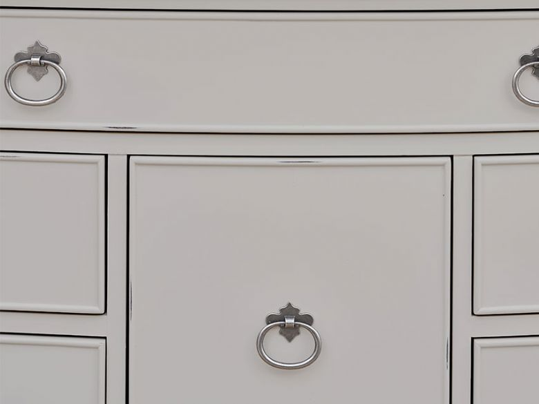 Etienne bedroom range distressed finish IFC available