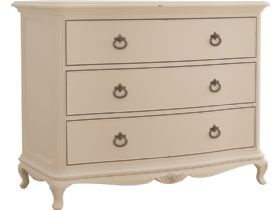 Ivory 3 Drawer Chest