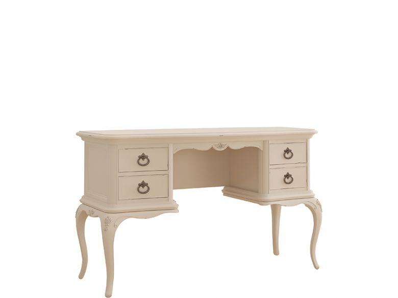 Ivory distressed dressing table available at Lee Longlands