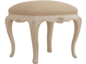 Ivory Bedroom Stool
