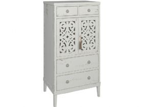Atelier 4 Drawer 2 Door Tall Chest