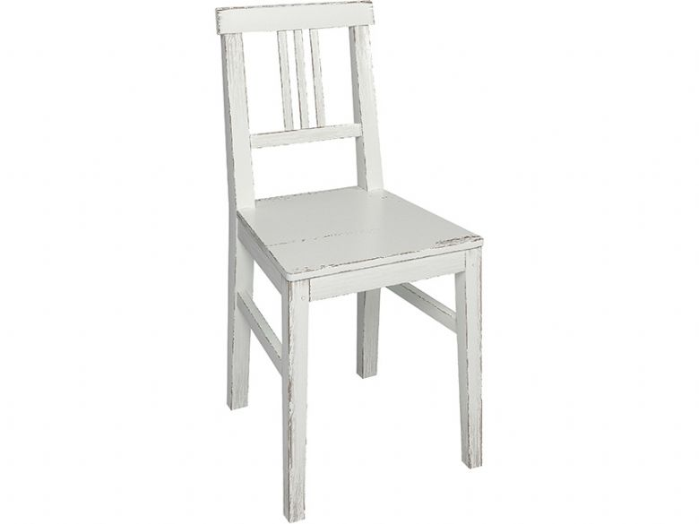 Atelier white distressed chair available at Lee Longlands