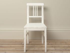 Atelier distressed bedroom furniture with tassles