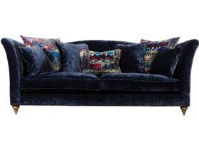 Monique blue grand sofa available at Lee Longlands