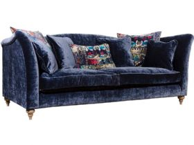 Monique blue 4 seater sofa available at Lee Longlands