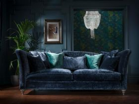 Monique fabric sofa range available in a selection of colours
